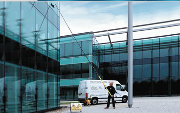 Reach & Wash® Window Cleaning System Available in Ireland from Ailesbury Services